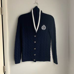 Ralph Lauren Polo Cable-knit Cardigan